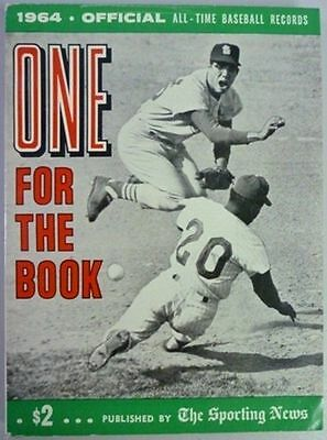 1964 One For The Book Published By The Sporting News