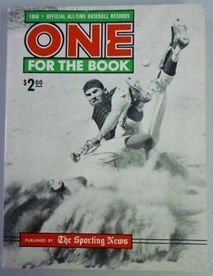 1966 One For The Book Published By The Sporting News