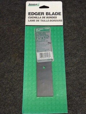 "NOS! Arnold 7-1/2"" x 1-1/2"" EDGER BLADE AEB-520, TWO 1/4"" HOLES, SEARS CRAFTSMAN"