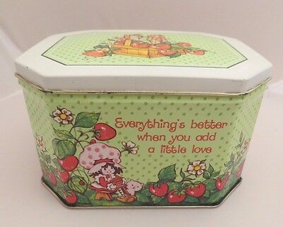 Vintage Strawberry Shortcake tin