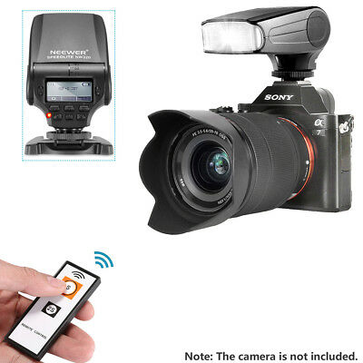 Neewer NW320 TTL LCD Display flash Speedlite with Remote Control for Sony A7/A7R
