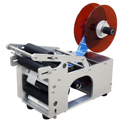 15-120m 120W Automatic Round Bottle Labeler Labeling Preisauszeichner Machine