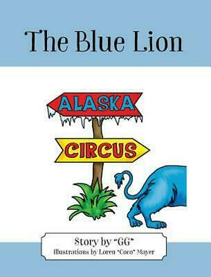 The Blue Lion by Gg Hardcover Book Free Shipping!