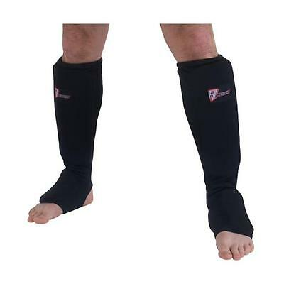 Revgear 41205 BLK SMALL Cloth Shin and Instep Pad Black