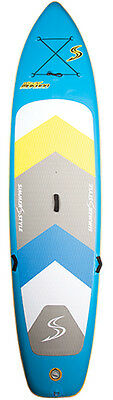 "Stand Up Paddle SUP Board Simmer Makana 10'6"" Freeride Windsurf iSup Inflatable"