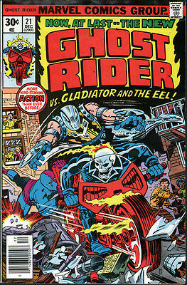 Marvel Ghost Rider #21 (1976) ... Gil Kane - No stock images