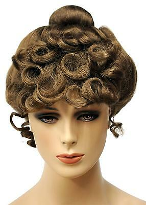 Adult Gibson Girl Wig 1890's Costume Lw108