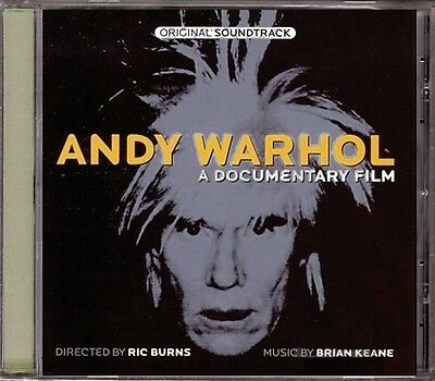 Andy Warhol A Documentary Film RARE OOP ORIG Psychedelic Score Soundtrack NEW CD