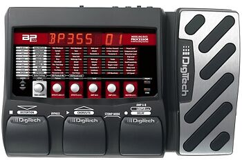 New DigiTech BP355 Bass Multi-Effects Pedal 7 USB Recording Interface