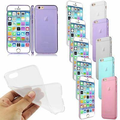 Ultra Thin Crystal Clear Soft Transparent Case Cover for New iPhone 6 4.7""