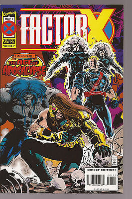 Factor X* Age Of Apocalypse * Complete 4 Issue Mini-Series * Near Mint