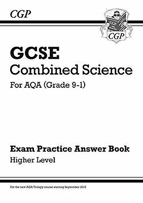 New GCSE Combined Science: AQA Answers (for Exam Practice Workbook) - Higher