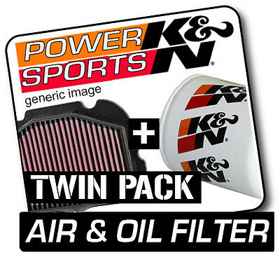 SUZUKI DRZ400S 400 2000-2011 K&N KN Air & Oil Filters Twin Pack! Motorcycle