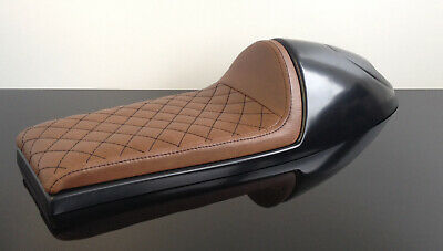 Cafe-Racer Höcker SITZBANK Seat BENCH Selle Banco BANC braun brown UNIVERSAL!
