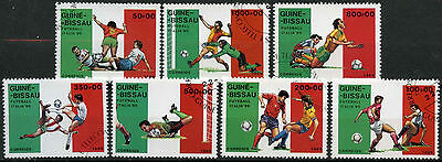 Guinea-Bissau 1989 SG#1151-1157 World Cup Football Cto Used Set #A92751