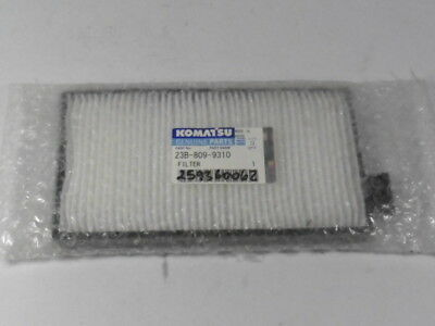 Komatsu Genuine Parts 23B-809-9310 Filter ! NWB !