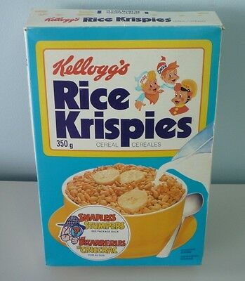 1979 Kellogg's Rice Krispies Agent Snapless Advertising Cereal Box
