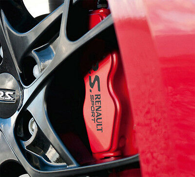 RENAULT Megane RS 225 Clio 197 Brake Caliper Decals Stickers Sport - ALL OPTIONS
