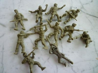 1968 Canadian Combat Soldiers Set Of 11