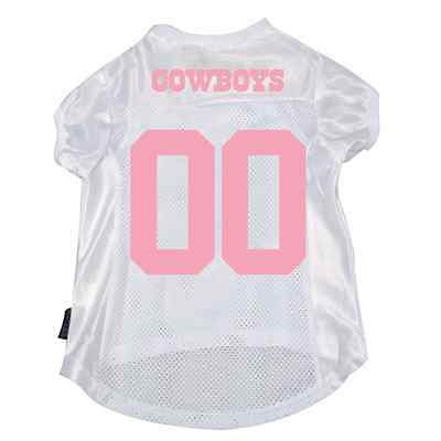 59c570e0860 New Dallas Cowboys Pet Dog Mesh Football Jersey Pink Large Licensed Details  4Fit