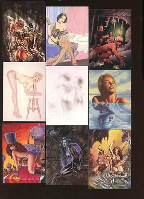 THE ART OF HEAVY METAL #1-90 COMPLETE BASE SET NEAR MINT #ns16-280