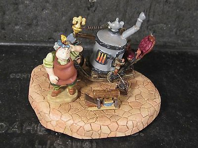 Disney Goebel Miniature 3pc Beauty & The Beast MAURICE AND HIS INVENTION nib