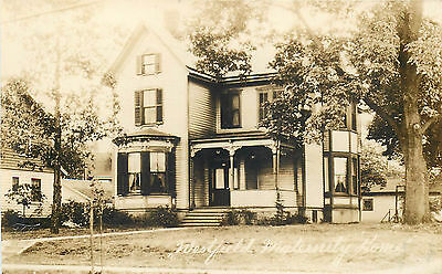 Westfield New Jersey Maternity Home Great Old Real Photo Postcard View
