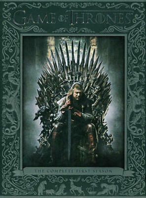 Game of Thrones: The Complete First 1 1st Season (DVD, 2012, 5-Disc Set)