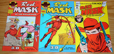 Red Mask of the Rio Grande #1-3 VF/NM complete series - ac comics western set