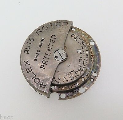 Vintage Early Rolex Pantented Bubble Back Automatic Parts- Watchmakers Dream