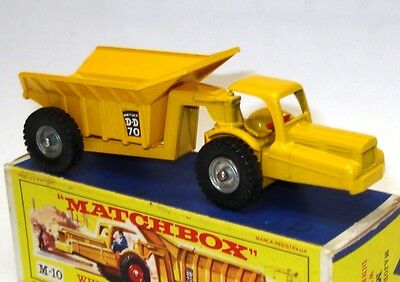 Lesney Major Pack No. 10 Whitlock Dinkum Dumper - Mint Boxed