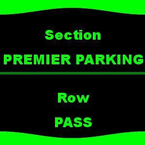1-1 PREMIER PARKING Kings of Leon & Nathaniel Rateliff and The Night Sweats 8/24