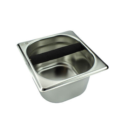 Holder Stainless Steel Tool Accessory Knock Box for Espress Coffee Maker Machine