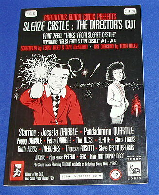 Sleaze Castle The Director's Cut: part zero. New. UK small press comix collected