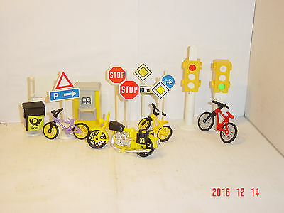 LGB G scale Train Decoration Layout BIKES SIGNS POST  L.G.B. Gauge IIm