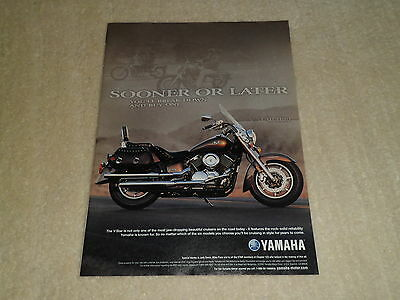 2003 YAMAHA V-STAR 1100 SILVERADO article / ad