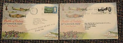 1966 Battle of Britain 25th Anniversary covers
