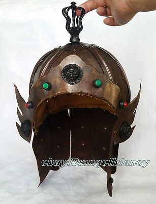 Dynasty Chinese Archaic precious Song Dy Bronze warrior's Helmet Reproductions
