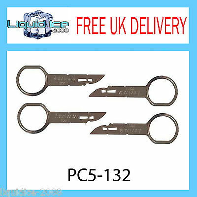 Pc5-132 Ford Mondeo Transit Cd Radio Stereo Removal Release Extraction Key Car