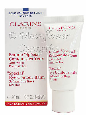 Clarins SPECIAL Eye Contour Balm Anti Aging Natural Plant Extracts 20ml Boxed