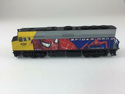 Custom Painted Kato N F40 VIA Spiderman 6408