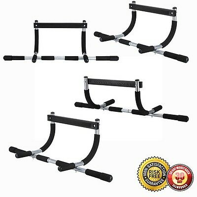 New Heavy Duty Doorway Chin Pull Up Bar Exercise Fitness Door Mounted