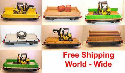 LGB Gscale range of Playmobil Train Cars  free shipping World L. G. B. gauge IIm