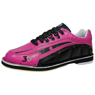 NEW 3G Tour Ultra Women's Bowling Shoes Right Hand Medium Black Pink