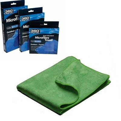 360 Degrees Compact Microfibre Towel Super Absorbent Fast Dry