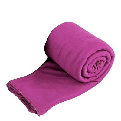 Sea to Summit Pocket Towel Ultra Fine Knit Microfibre BERRY SMALL 80cm x 40cm