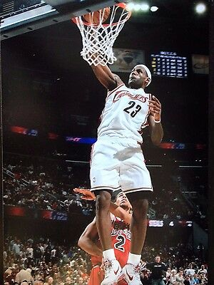 Lebron James - Cleveland Cavaliers Basketball Player - Unsigned Colour Photo