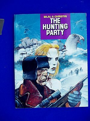 Enki Bilal : The Hunting Party. Paperback. 1st UK edition.