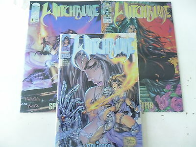 3 x Comic - Witchblade - Band 1-3 - Chrome Cover  - Splitter - image - Z.0-1