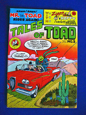Tales of Toad 3 Bill Griffith . underground. 1st print. VFN.